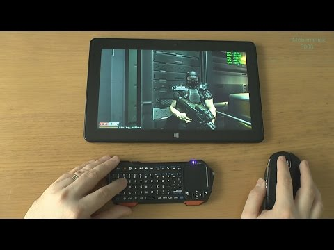 1# Doom 3 BFG Edition(PC) test on tablet Dell Venue 11 Pro 7140 Intel Core M-5Y71 - max details !!!