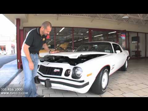 1977 Chevrolet Camaro Z-28 for sale with test drive, driving sounds, and walk through video