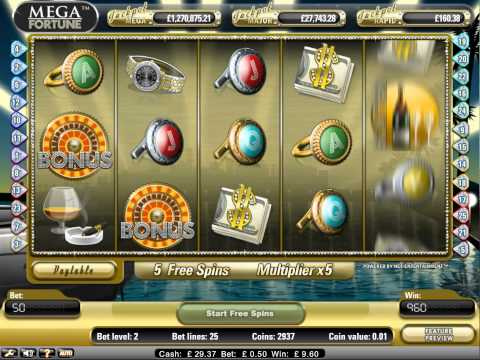 NetEnt Mega Fortune Free Spins Big Win