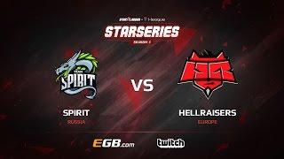 Spirit vs HellRaisers, map 1 overpass, SL i-League StarSeries Season 3 Europe Qualifier