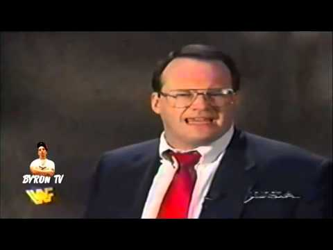 Jim Cornette shoots on Phil Mushnick on Raw October 13th  1997