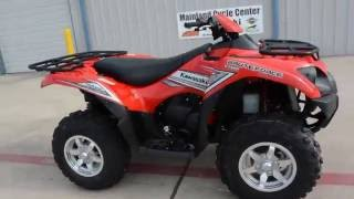 9. $9,999:  2017 Kawasaki Brute Force 750 EPS Red Overview and Review