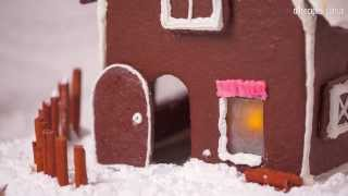 Cómo hacer una casita de jengibre