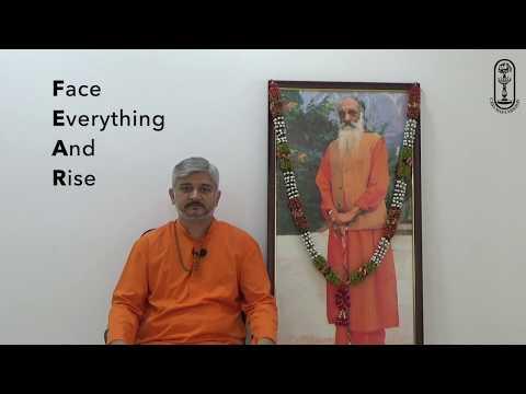 Jagadeeshwara Mandir Suvarna Mahotsava - Be Fearless Like Shiva - Swami Swatmananda
