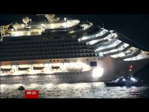 cruise ship Italy - Costa Concordia Cruise ship runs aground in Italy 2012 But what exactly happened?
