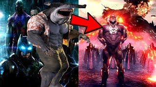Darkseid NEW LOOK REVEALED By Zack Synder! King Shark DELETED Scene In Suicide Squad