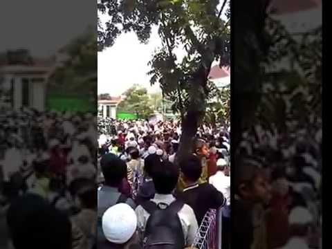 Pembubaran Kajian Khalid Basalamah oleh Umat Islam Sidoarjo - Jawa Timur