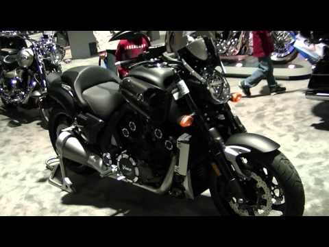 2012 Yamaha VMAX Motorcycle and Accessories