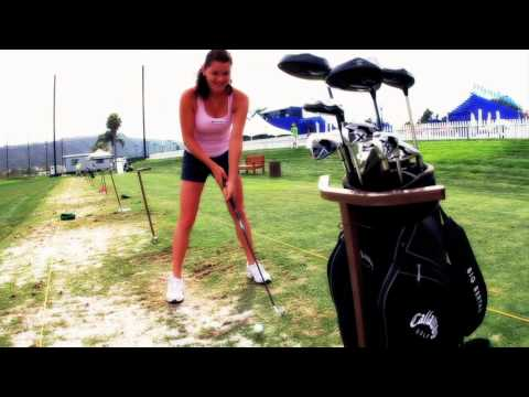 Agnieszka Radwanska On Golf Course - Funny Sports Blooper