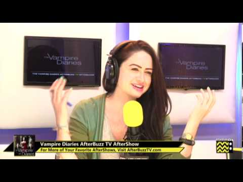"""Vampire Diaries After Show Season 5 Episode 6 """"Handle With Care""""   AfterBuzz TV"""