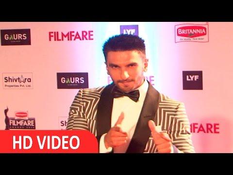Ranveer Singh At Filmfare Awards 2016