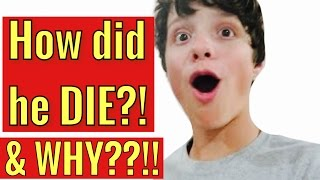 How did CALEB LOGAN DIE! & WHY?
