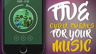 FIVE BEST CYDIA TWEAKS FOR YOUR MUSIC - iOS 9 - 9.3.3 Jailbreak Cydia Tweak, ios 9, ios, iphone, ios 9 ra mat