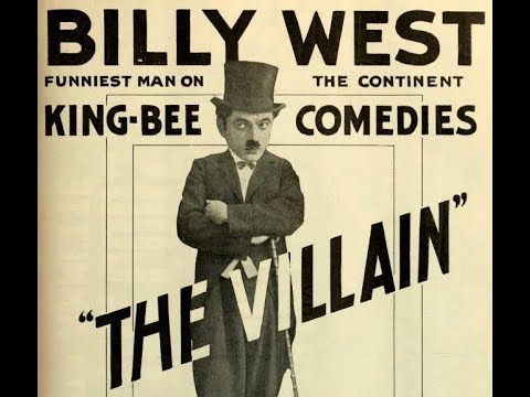 THE VILLAIN- (1917)  Oliver Hardy, Billy West, Florence McLaughlin