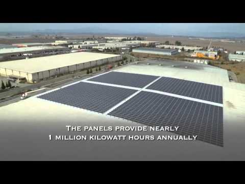 Hess Collection Winery Solar Installation by Solar