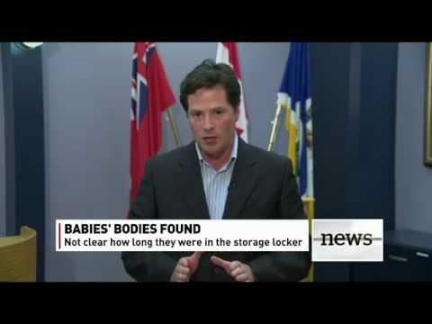 Update on discovery of four dead infants in a Winnipeg storage locker