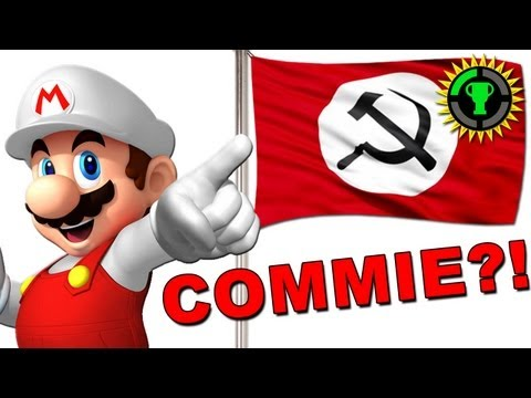 theory - Is Super Mario a Communist? Seems ridiculous...until you look at the evidence. Is Mario Jumpman Mario the NEW Red Menace, the People's Mario? We take you thr...
