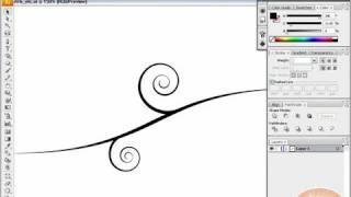 Vector Swirls, Swooshes, and Florals: Illustrator Tutorial