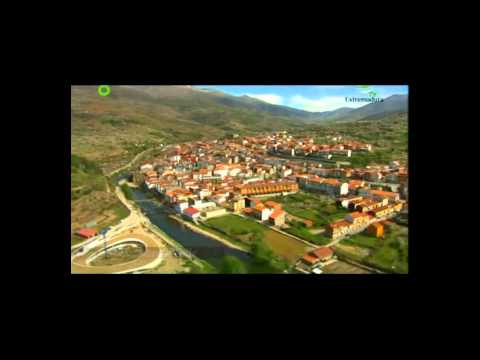 Valle del Jerte desde el aire