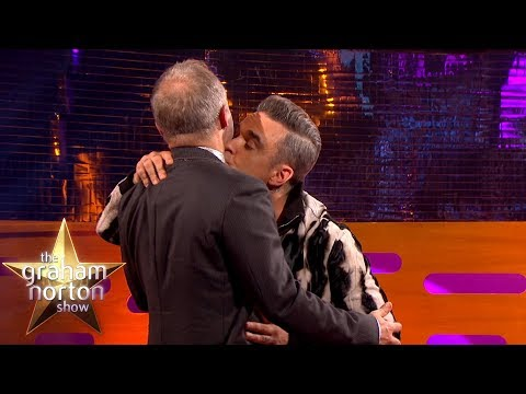 Robbie Williams Kissed a Mobsters Adam's Apple | The Graham Norton Show