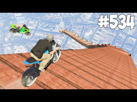 SKY RACE 1 ET 2 ! GTA 5 ONLINE COURSE #534 (видео)