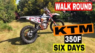 10. 2019 KTM 350-F EXC six days EXTRAs added