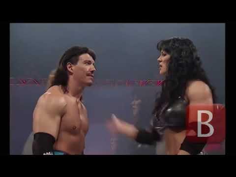 Legendary match up between Eddie Guerrero vs Chyna
