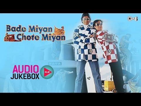Bade Miyan Chote Miyan Jukebox - Full Album Songs | Amitabh Bachchan, Govinda, Raveena Tandon