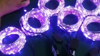 LED Rope Lights with APP control Led String Lights with16 million colors 19 modes color changing youtube video