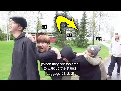 Bts Being Funny And Weird In Game :))