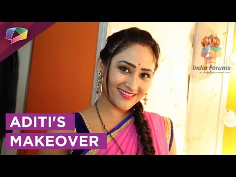 Aditi Sajwan's makeover on Chidiya Ghar