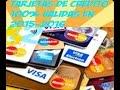 Tarjetas De Credito 100% Validas 2015-2016