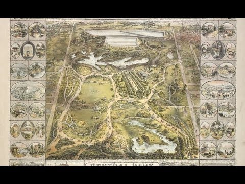 Maps of New York shows stunning evolution