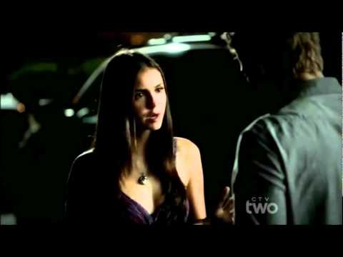 Stefan breaks up with Elena full scene The Vampire Diaries 3x03