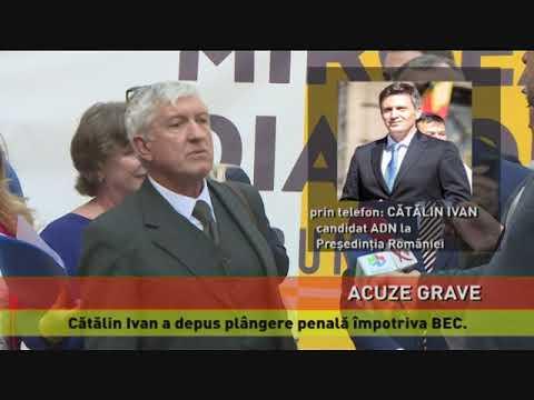Cătălin Ivan a depus plângere penală împotriva BEC