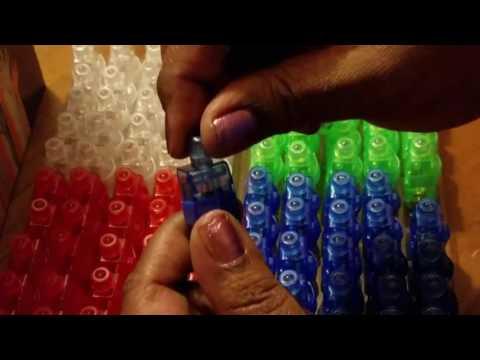 Dennov 100 LED Finger Lights Beams Light Up Toys Party Favors Supplies