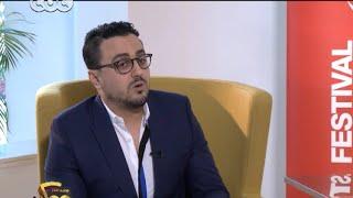 "cbc tv ممكن | لقاء خاص مع الاعلامي ""رشيد العلالي"" بمهرجان مراكش السينمائي"