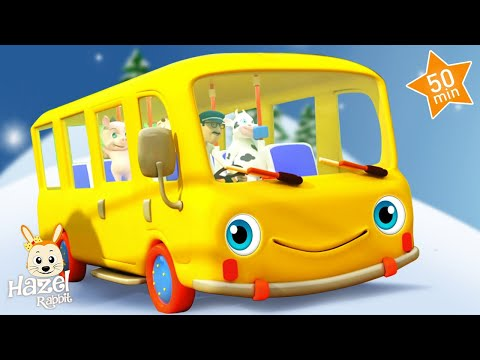 Wheels on the Bus! Songs for Children - Baby Music Videos 👶 Kids Nursery Rhymes