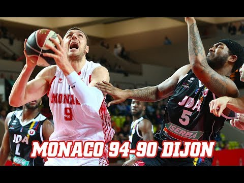 Jeep Elite — Monaco 94 - 90 Dijon — Highlights