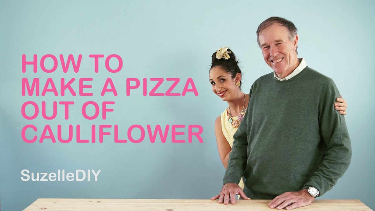 How to make a Pizza out of Cauliflower-graphic