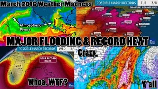Monroe (LA) United States  city images : Major Storms, Flooding & Record Heat for USA begins Now & runs through the end of March 2016