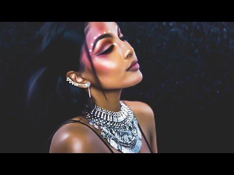 Music Festival Makeup | Danica Theobald (видео)