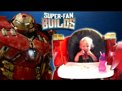 This Girl's Hulkbuster High Chair Will Make You Wish You Were A Toddler