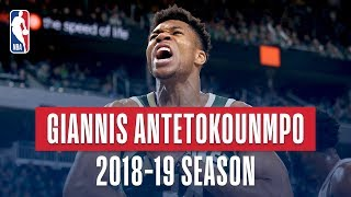 Giannis Antetokounmpo's Best Plays From the 2018-19 NBA Regular Season