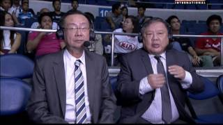 The Philippine Basketball Association (PBA) is a men's professional basketball league in the Philippines composed of 10 company-branded franchised teams.  It is the first and oldest professional basketball league in Asia and the second oldest in the world after the NBA. The league's regulations are a hybrid of rules from FIBA and the NBA. For more info on PBA and Aksyon TV International, visit kapatidtv.com or facebook.com/globalkapatid.