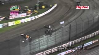 Knoxville Raceway 8-1-15 410 sprints