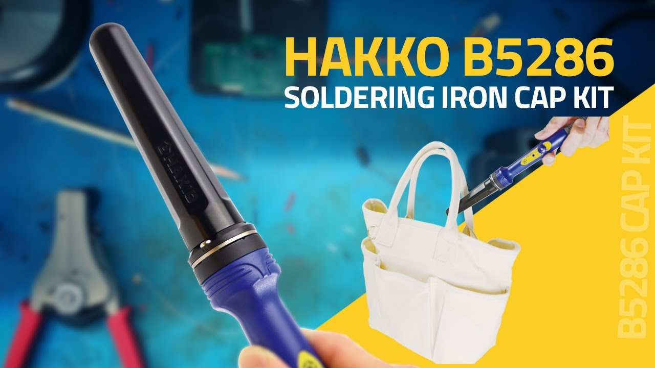 Introducing The HAKKO B5286 Cap Kit