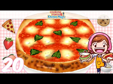 [Let's Play] Cooking Mama 4 Kitchen Magic - EP20: Pizza ( ͡° ͜ʖ ͡°)