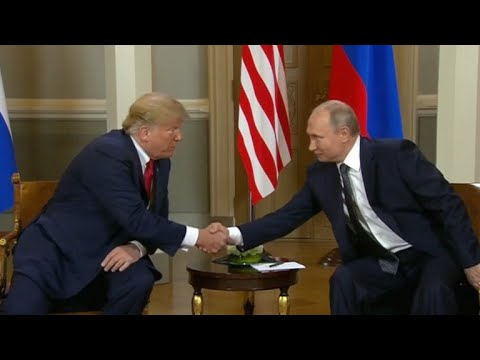 President Trump, Vladimir Putin hold high-stakes meeting in Helsinki