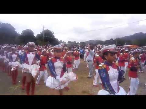 Banda Rítmica Benjamín Zeledon Jinotega - Nicaragua  15/09/2014